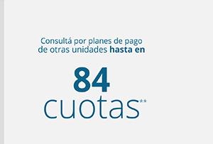 84 cuotas